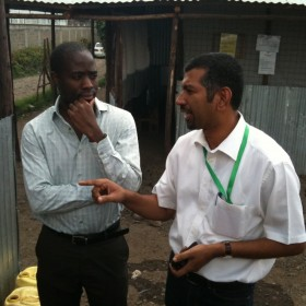 2009 Fellow Ram Hariharan describes Bridge International Academies to 2011 Fellow Shane Heywood.