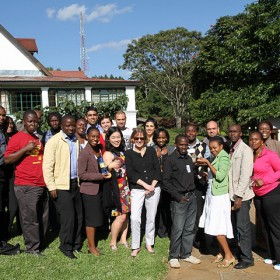 The Acumen Fund East Africa Fellows at their third seminar