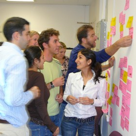 Fellows Post-it Training