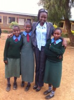 Josephine - Today visiting our girls in Consolata primary in Suguta!!  (2)