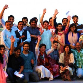 PK Fellows during Seminar #2 Moral Imagination – with CLA and Suraj!