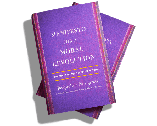 book - manifesto for a moral revolution - jacqueline novogratz